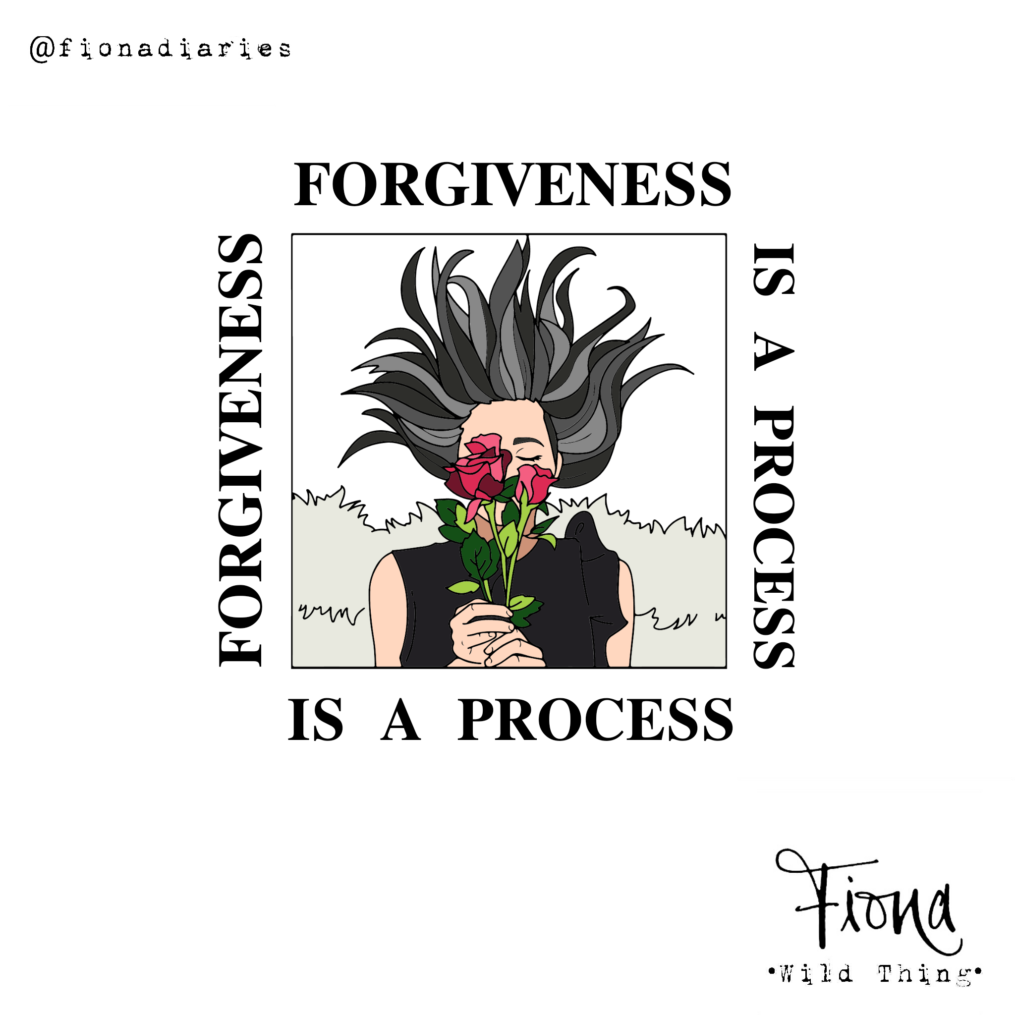 Forgiveness is a process